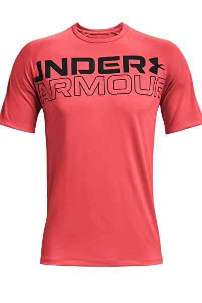 Under Armour Erkek Spor T-Shirt - UA TECH 2.0 WORDMARK SS - 1361702-628