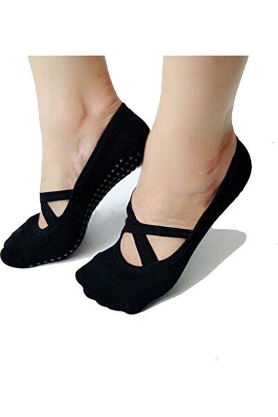 ATLANTİK 3'lü Paket Kaydırmaz Dans Pilates Ve Yoga Çorabı