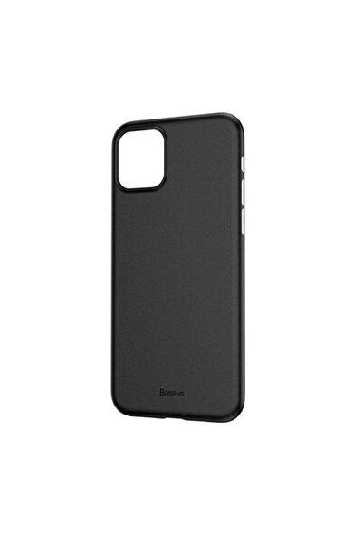 Baseus Wing Case Iphone 11 Pro Max uyumlu  6.5 2019 Kılıf Ultra Ince Lux Mat Şeffaf Kılıf