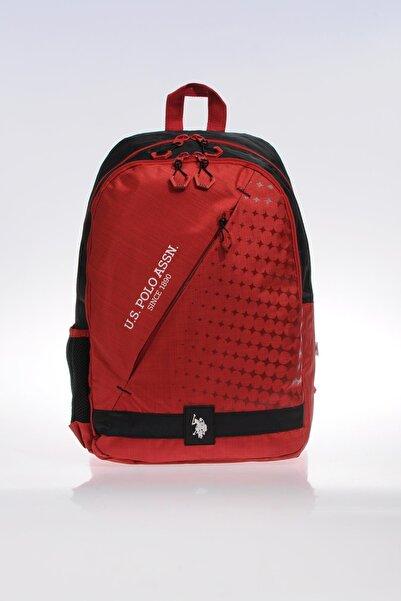 U.S. Polo Assn. Unisex Kırmızı Sırt Çantası 9219