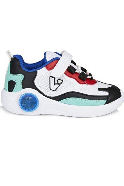 Vicco Yoda Erkek Çocuk Beyaz-siyah-kırmızı Spor Ayakkabı