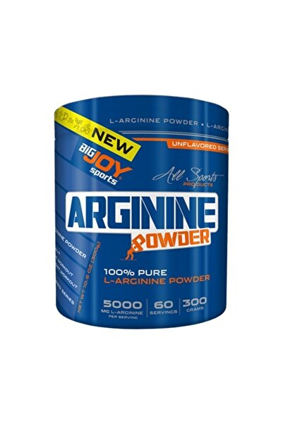 Big Joy Bigjoy Sports Arginine Powder  L-Arginine Amino Asit 300g