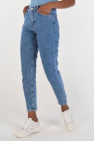 Kadın Açık Kot Rengi Dar Paça Pantolon Pn5793 - Pnr ADX-0000016592