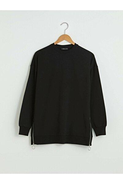 LC Waikiki Kadın Siyah Sweatshirt