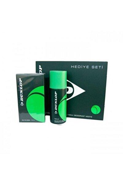 DUNLOP Orıjınal Erkek Parfüm 100 Ml Edt + 150 Ml Deodorant Yeşil Classic