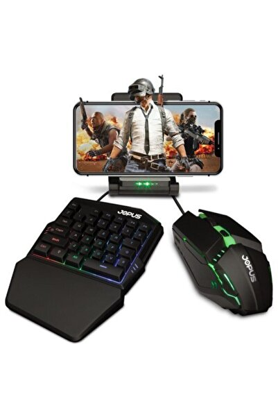 Jopus Sorcerer Gaming Set Klavye Ve Mouse Fare Seti Pubg Oyun Seti
