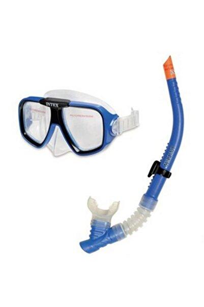 Intex Depoma Consept Intex Snorkel Ve Maske Set - Mavi