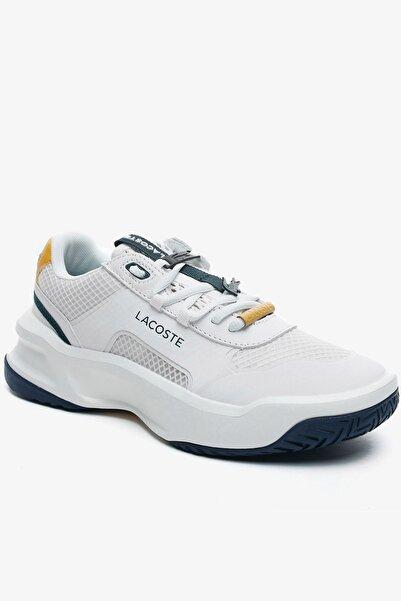 Lacoste Ace Lift Fly 0721 1 Sfa Kadın Beyaz - Lacivert Sneaker 741SFA0025