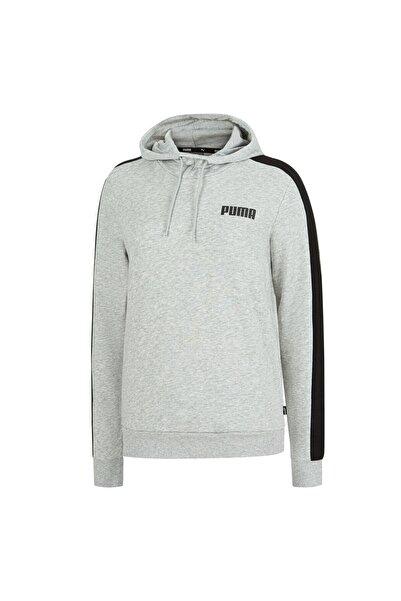 Puma CONTRAST HOODY TR W Gri Kadın Sweatshirt 101119492