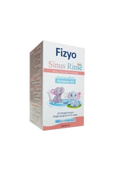 Fizyo Sinus Rinse Kids Çokcuklar Burun Ve Sinüs Temizleme Kiti 20x120 Ml