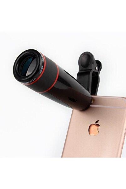 Ricardo Teleskop Telefon Kamera Lensi Mini El Dürbünü