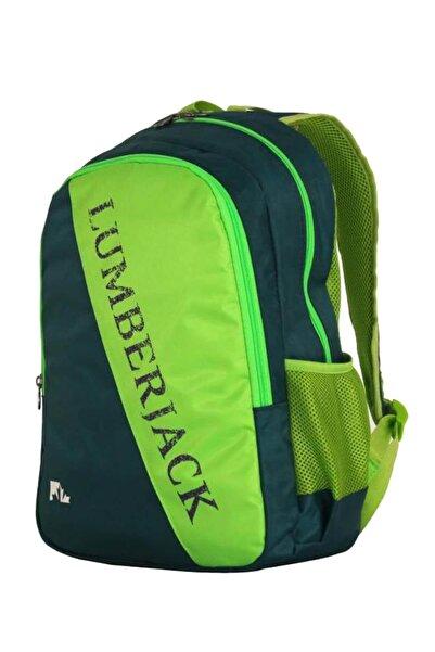 lumberjack Unisex Yeşil Sırt Çantası Lm8533