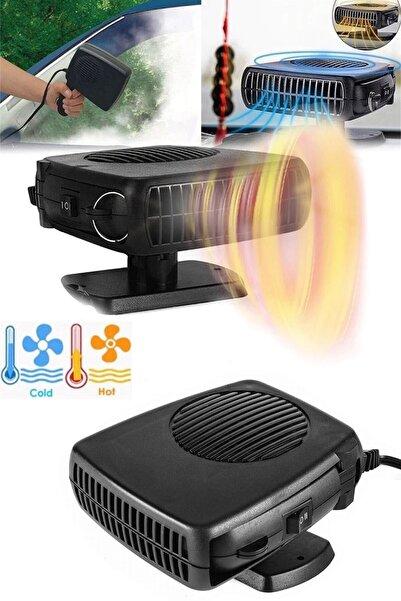 Chermik Oto Isıtıcı-soğutucu Fan Cam Buğu Çözücü Fan Çakmaklık Girişli 12 V