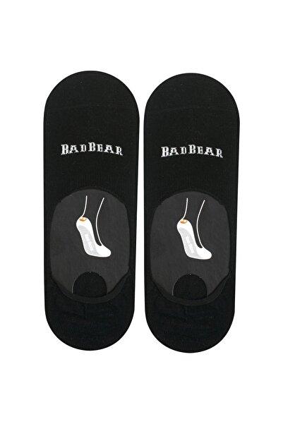 Bad Bear Siyah Çorap