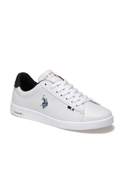 U.S. Polo Assn. FRANCO 1FX Beyaz Erkek Sneaker Ayakkabı 100910268