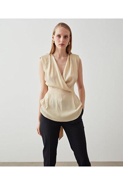 İpekyol Anvelop Form Kuşaklı Bluz