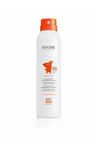 Babe Pediatric Transparent Sunscreen Wet Skin Spf 50 + -ıslak Cilde Uygulanabilen Güneş Spreyi 200 ml