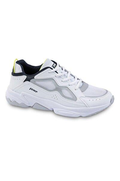 Jump 24712 Unisex Beyaz Spor Ayakkabı.