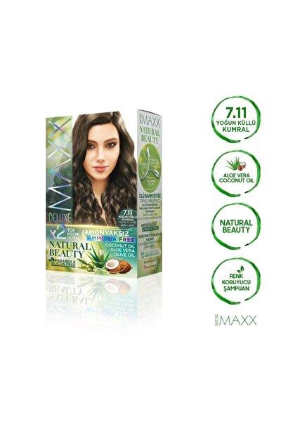 MAXX DELUXE Natural Beauty 7.11 Yoğun Küllü Kumral