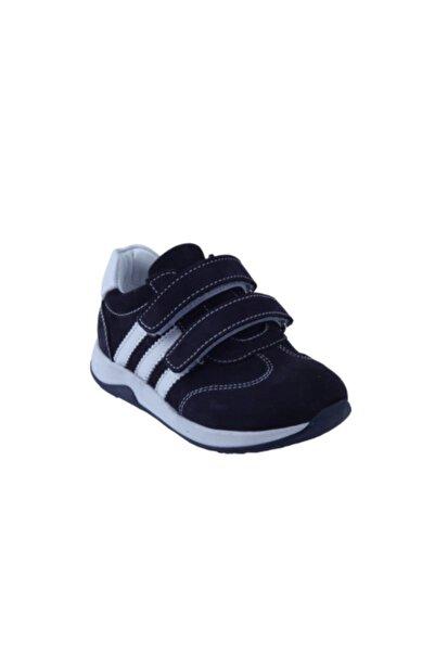Toddler Erkek Çocuk Lacivert Deri Ortopedik Ayakkabısı 26 - 30