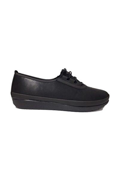 Barbour 011 Siyah Kadın Özel Üretim Ayakkabı