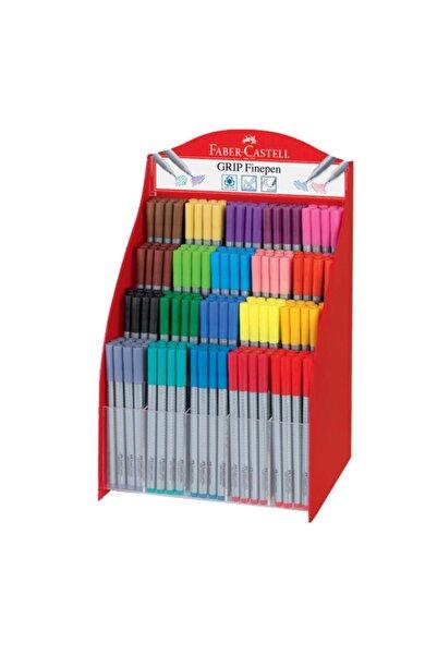 Faber Castell Grip Finepen 0.4 Mm Karışık Renk ( 300 Lü Stand ) 15 16 98