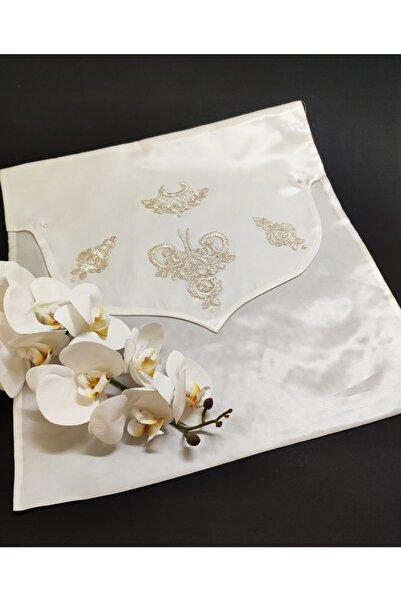 Çt Çeyizci Tekstil Zarf Bohça Gold Desen