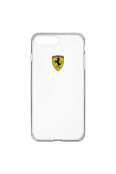Ferrari Orijinal Lisanslı  Iphone 7 / 8 Şeffaf Silikon   Kılıf