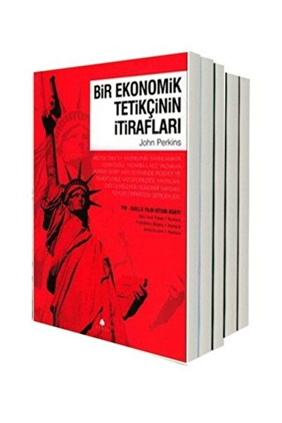 April Yayıncılık Bir Ekonomik Tetikçinin Itirafları Seti-5 Kitap Takım