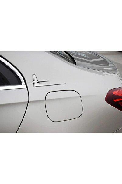 MERCEDES Benz Kanatlı Yıldız Melek Yan Logo Amblem 2 Li Seti