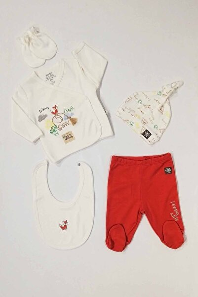İmaj Bebek Kırmızı Arkadaşım Fil 5 Li Set