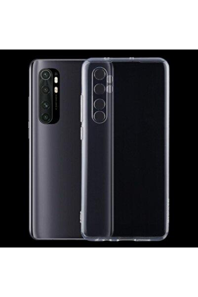 Guesche Di Aksesuar Xiaomi Mi Note 10 Lite Şeffaf Antishock Kamera Korumalı Tıpalı Kaydırmaz Kılıf