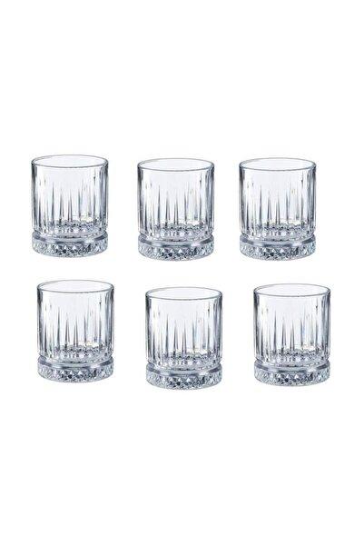 Paşabahçe Beyaz Kristal 6'lı Kahve Yanı Küçük Su Bardağı