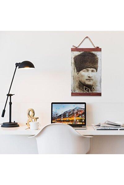 tahtadekor Atatürk Portresi Ahşap Dekoratif Duvar Panosu