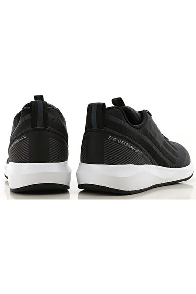 EA7 Erkek Siyah Spor Ayakkabı