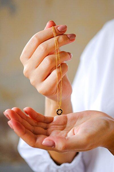 Gui Jewellery Harmony Mini Kolye Gümüş Üzeri Altın Kaplama