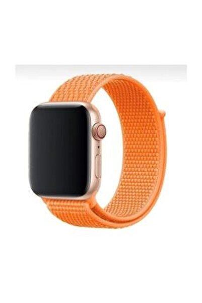 Apple Watch 1-2-3-4-5 Serisi ( 42mm - 44mm ) Uyumlu Spor Loop Kordon