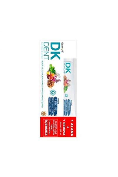 Dermokil Dk Dent 7 Bitki Özlü Diş Macunu 100 ml + 100 ml 1 Alana 1 Bedava