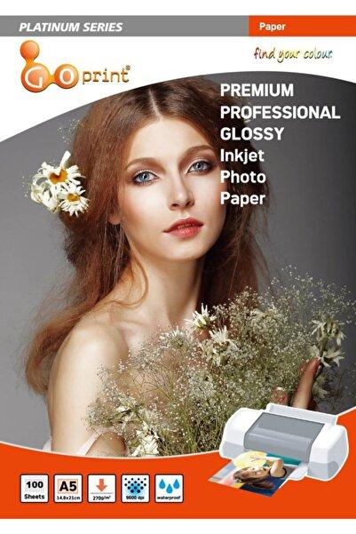 Goprint Platınum Serisi Premium Ultra Parlak A4 Fotoğraf Kağıdı 270gr 20 Yaprak