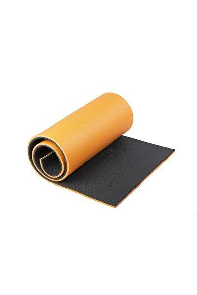 GAZELMANYA 16mm Çift Taraflı Turuncu Yoga Ve Spor Matı
