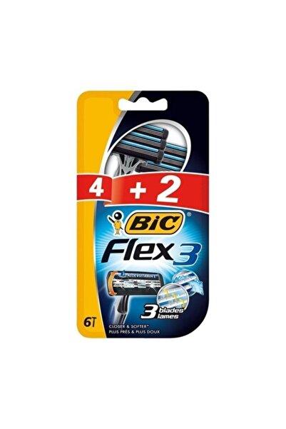 Bic 3 Bıçak Flex 3 4+2 Blister Tıraş Bıçağı