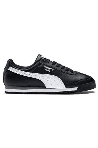Puma Roma Basic Black-white- Silver