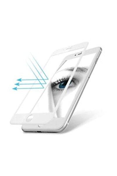 İphone 7 - 8 Kavisli Esnek Nano Zengin Çarşım Ekran Koruyucu Beyaz