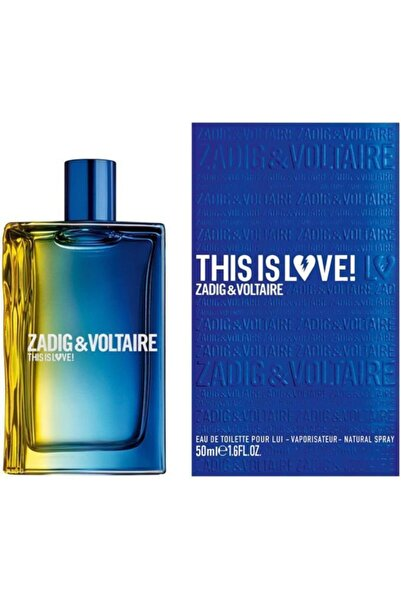 Zadig&Voltaire This Is Love Edt 100 ml Erkek Parfüm 3423473060857