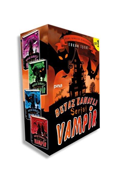 Pinus Kitap Beyaz Kanatlı Vampir Set 1 - Erkan Işeri - Stokbkvs1