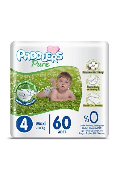 Paddlers Pure 4 Numara Maxi 60 Adet 7-14 kg Jumbo Paket