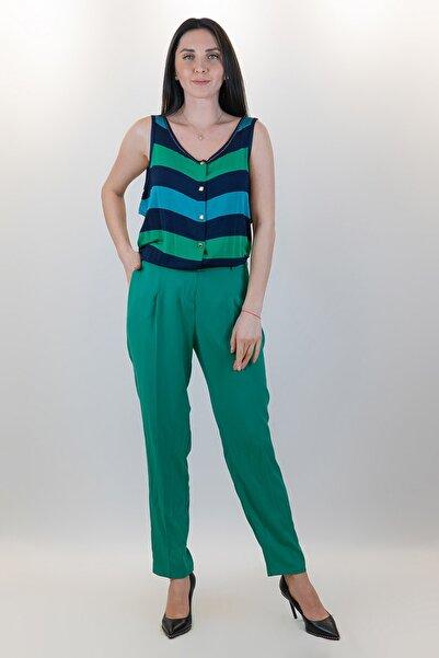 GİZİA Kadın Yeşil Tulum