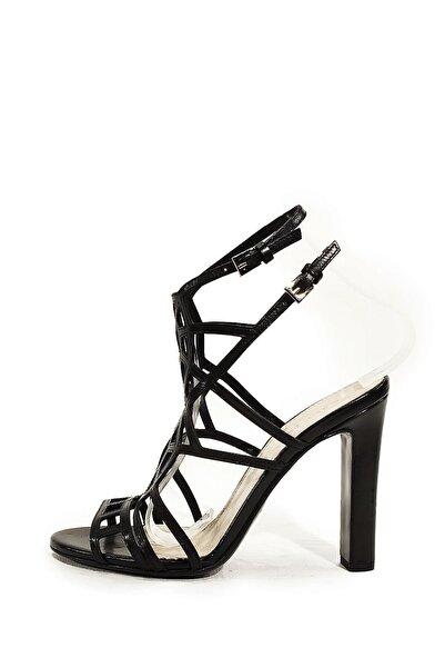Nursace Hakiki Deri Klasik Topuklu Ayakkabı Nsc14y-42712
