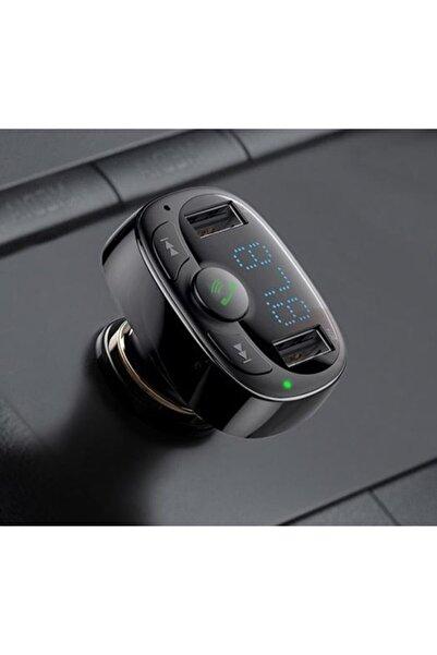 Avcill Araç Kiti Fm Transmitter Baseus Tipi Bluetooth Usb Mp3 Sd Kart Çakmaklık Girişli Müzik Çalaf