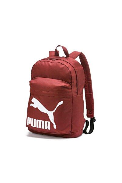 Puma ORIGINALS Bordo Unisex Sırt Çantası 100480393